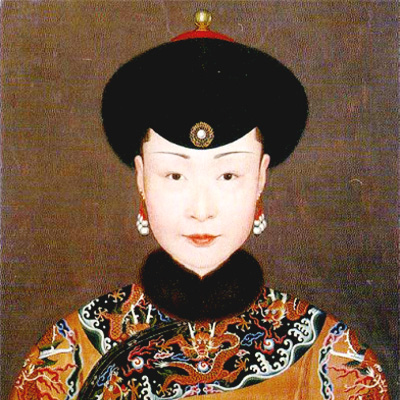 ウラナラ皇后肖像画