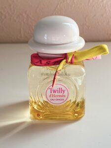 香りが長続きするエルメス:Twilly de Hermès  eau ginger